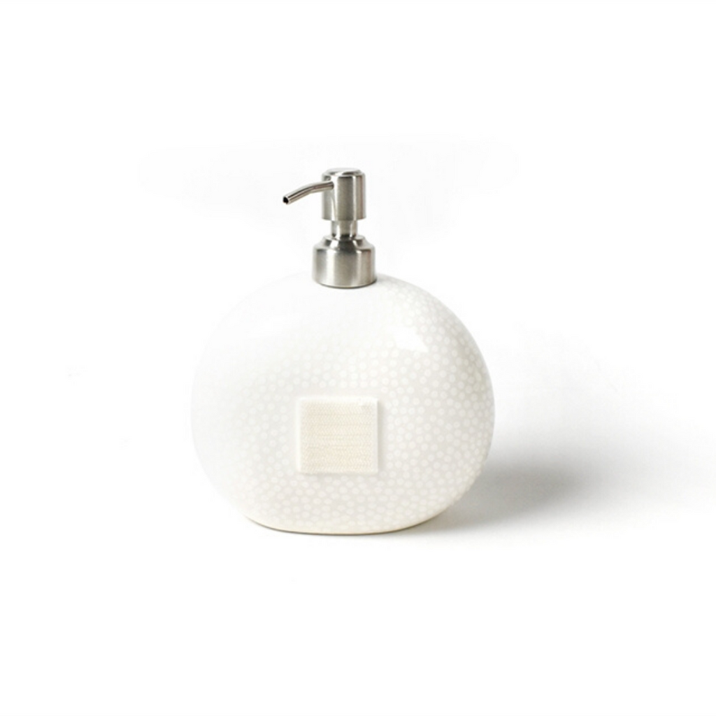 Happy Everything - White Small Dot Mini Soap Pump