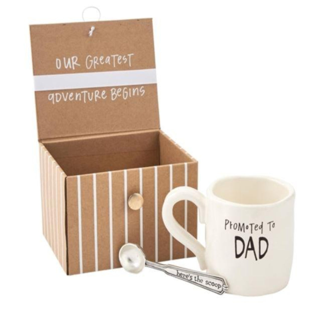 Mud Pie - Dad Coffee Baby Announcement Gift Set