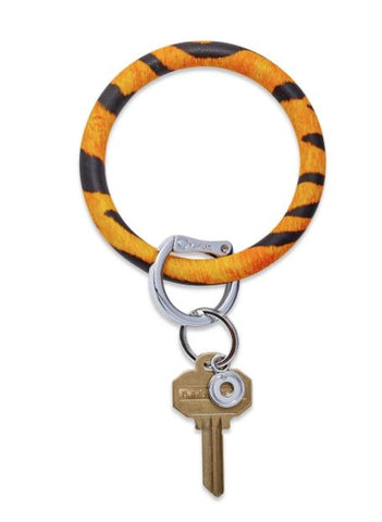 O-Venture - Silicone Big O Key Ring - Tiger