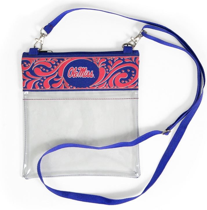 Landes - Clear Game Day Crossbody - Ole Miss