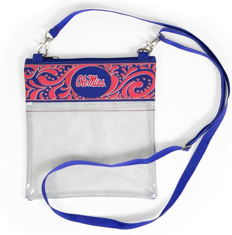 Clear Game Day Crossbody - Ole Miss