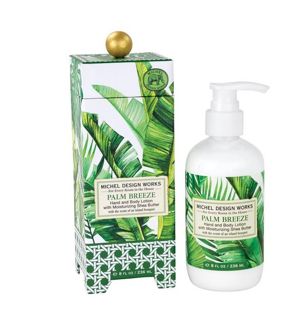Michel Design Works - Palm Breeze Lotion - Debbie's Hallmark