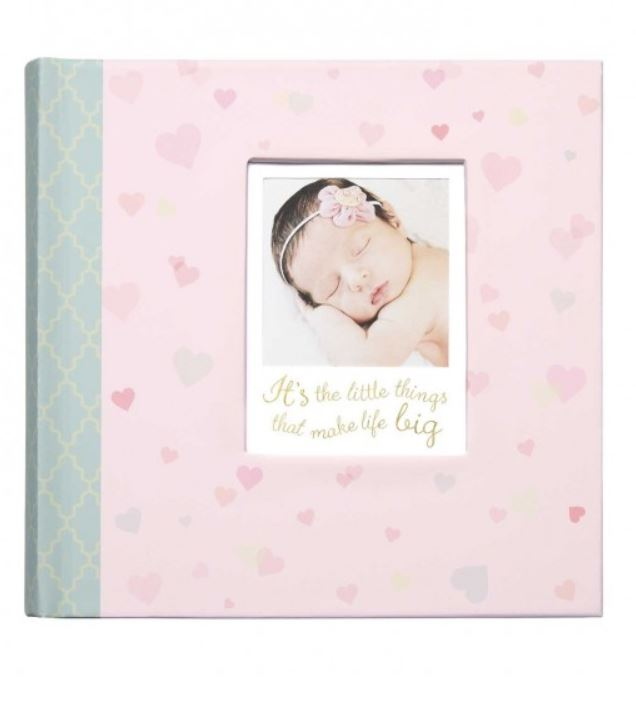 CR Gibson - Slim Bound Photo Journal Album - Little Love - Debbie's Hallmark
