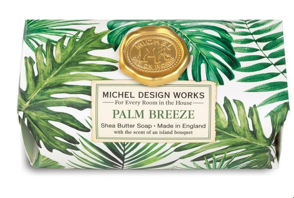 Michel Design Works - Palm Breeze Large Bath Soap - Debbie's Hallmark