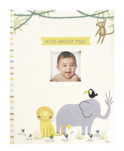 CR Gibson - Memory Book-Wild About You - Debbie's Hallmark