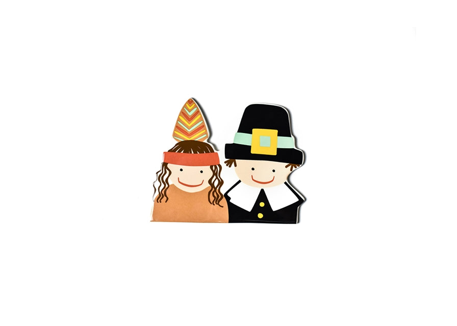 Happy Everything - Pilgrim and Indian Mini Attachment