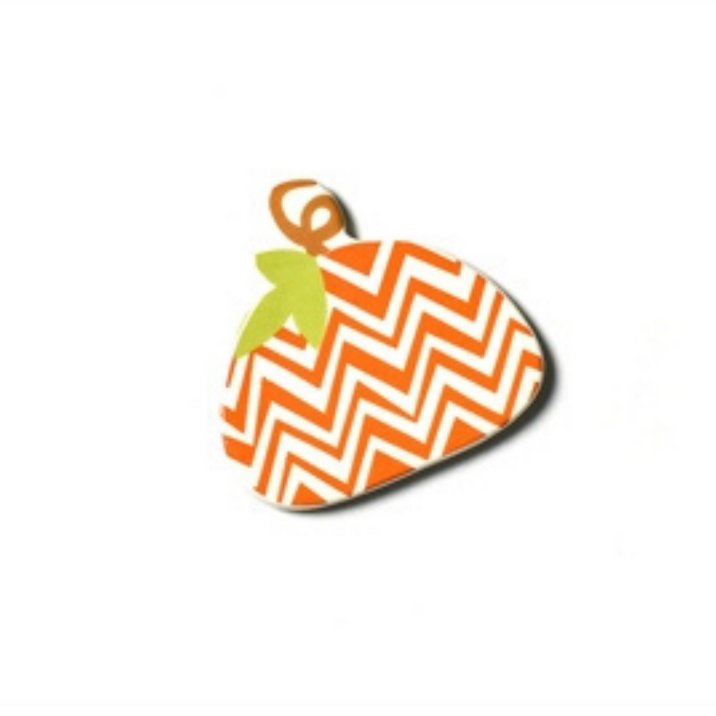 Happy Everything - Chevron Pumpkin Mini Attachment