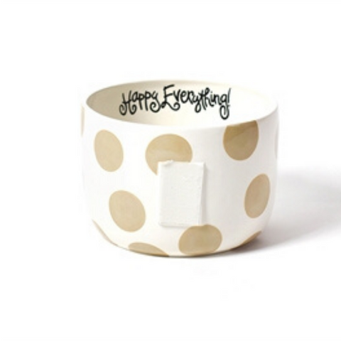 Happy Everything - Neutral Dot Happy Everything! Big Bowl