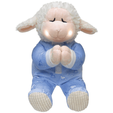 Cuddle Barn Animated Plush Little Lamb Pray with Me Nate