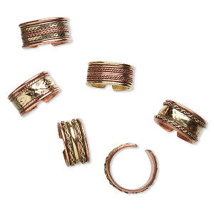 Copper & Brass Rings - Yogees