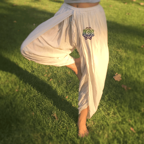 Signature Yoga Pant with Lotus Mandala - Yogees