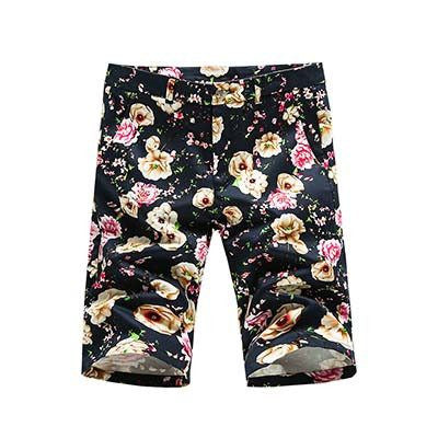 Casual Flower Beach Shorts