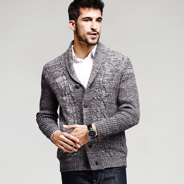 Cotton Knitted Cardigan Knitting Sweaters