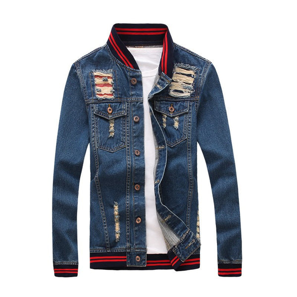 Denim Pattern Jacket