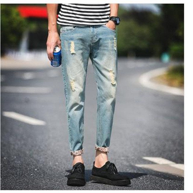 Slim Ripped Jeans