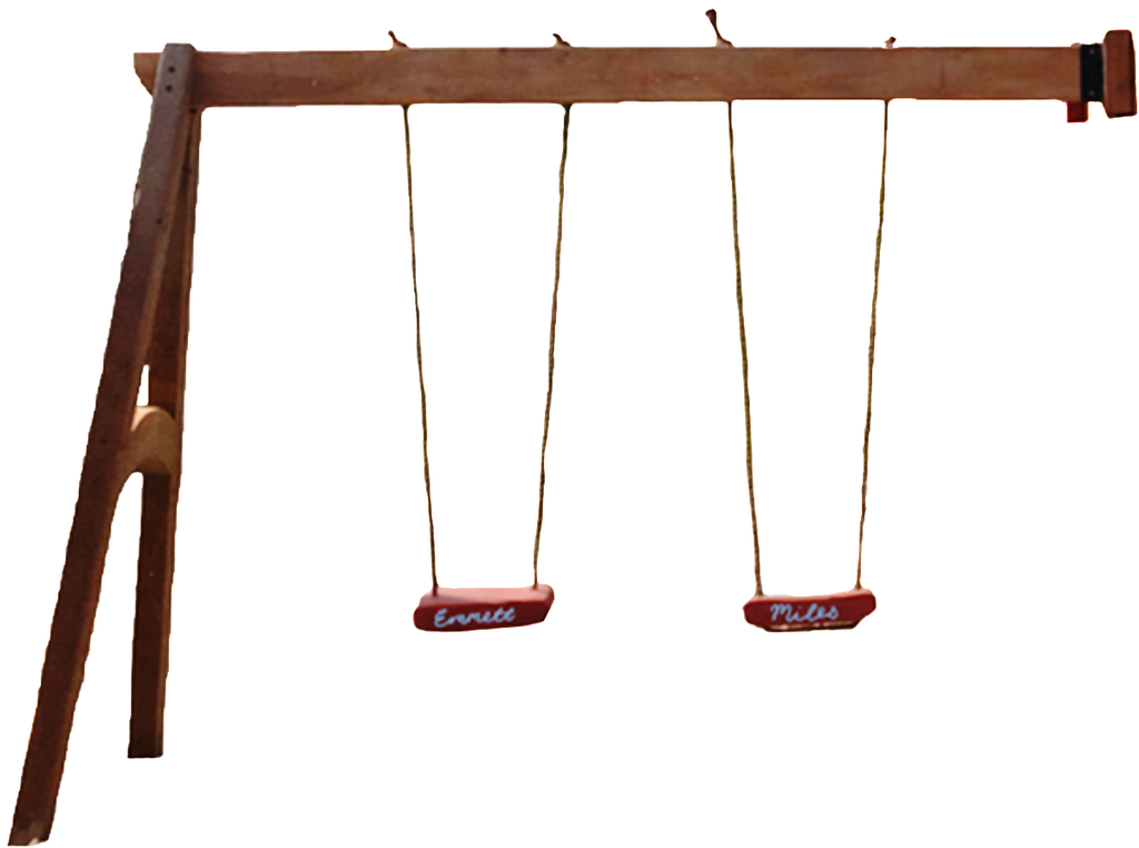 A-Frame Charmed Swingset