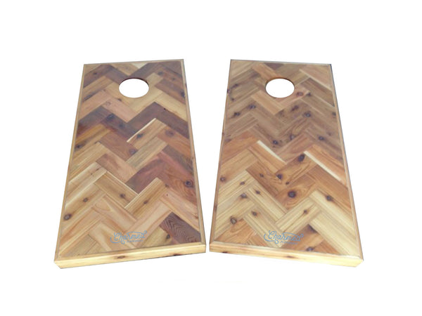 Herringbone Cornhole Game