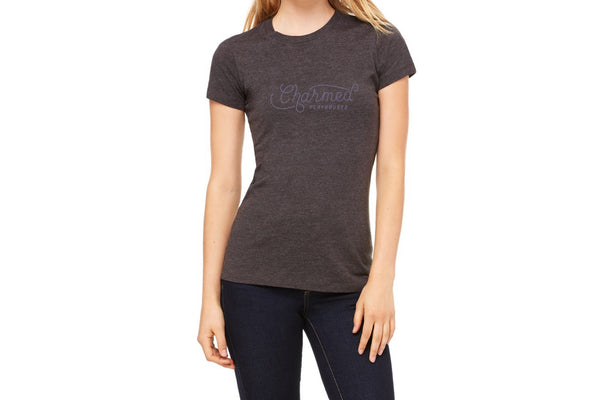 Charmed T-Shirt Women - Heather Dark Gray
