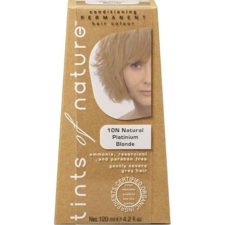 10N Natural Platinium Blonde Tints Of Nature