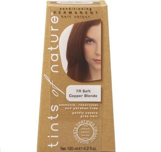 7R Soft Copper Blonde Tints Of Nature