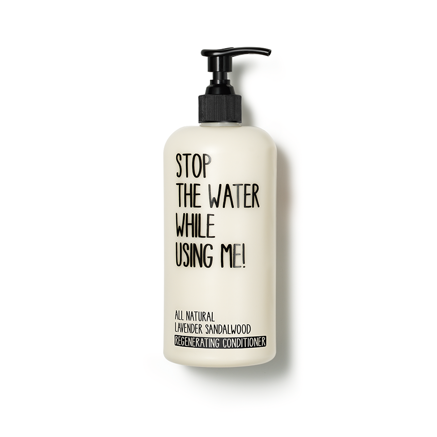 Stop The Water While Using Me! - Lavender Sandalwood Regenerating Conditioner - 500ML