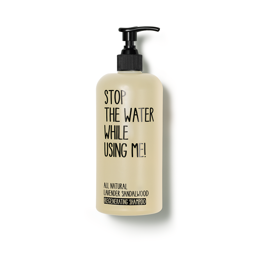 Stop The Water While Using Me! - Lavender Sandalwood Regenerating Shampoo - 500ML