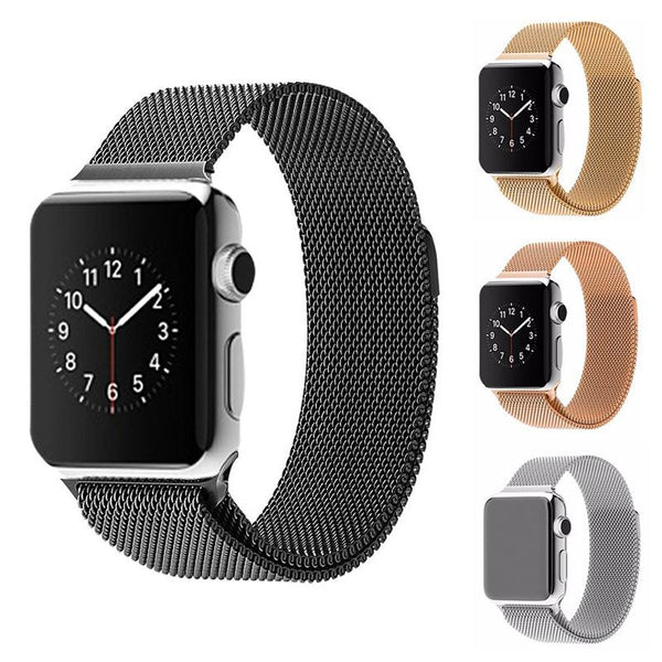 Original Milanese Stainless Steel Band for Apple Watch 38/42mm