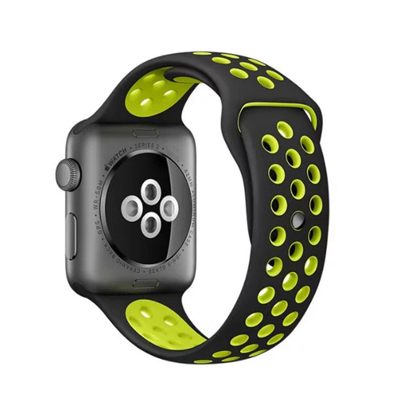 Silicon Sports Watch for Apple Watch Nike+ Plus 38/42mm
