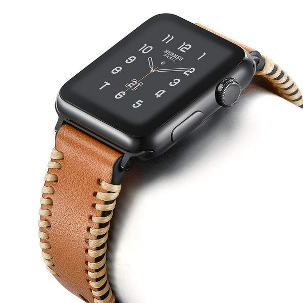 Genuine Leather for your watch available in black and brown