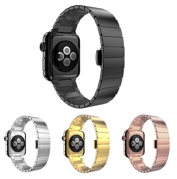 Luxury look withough the luxury price. Stainless Steel band in four finishes
