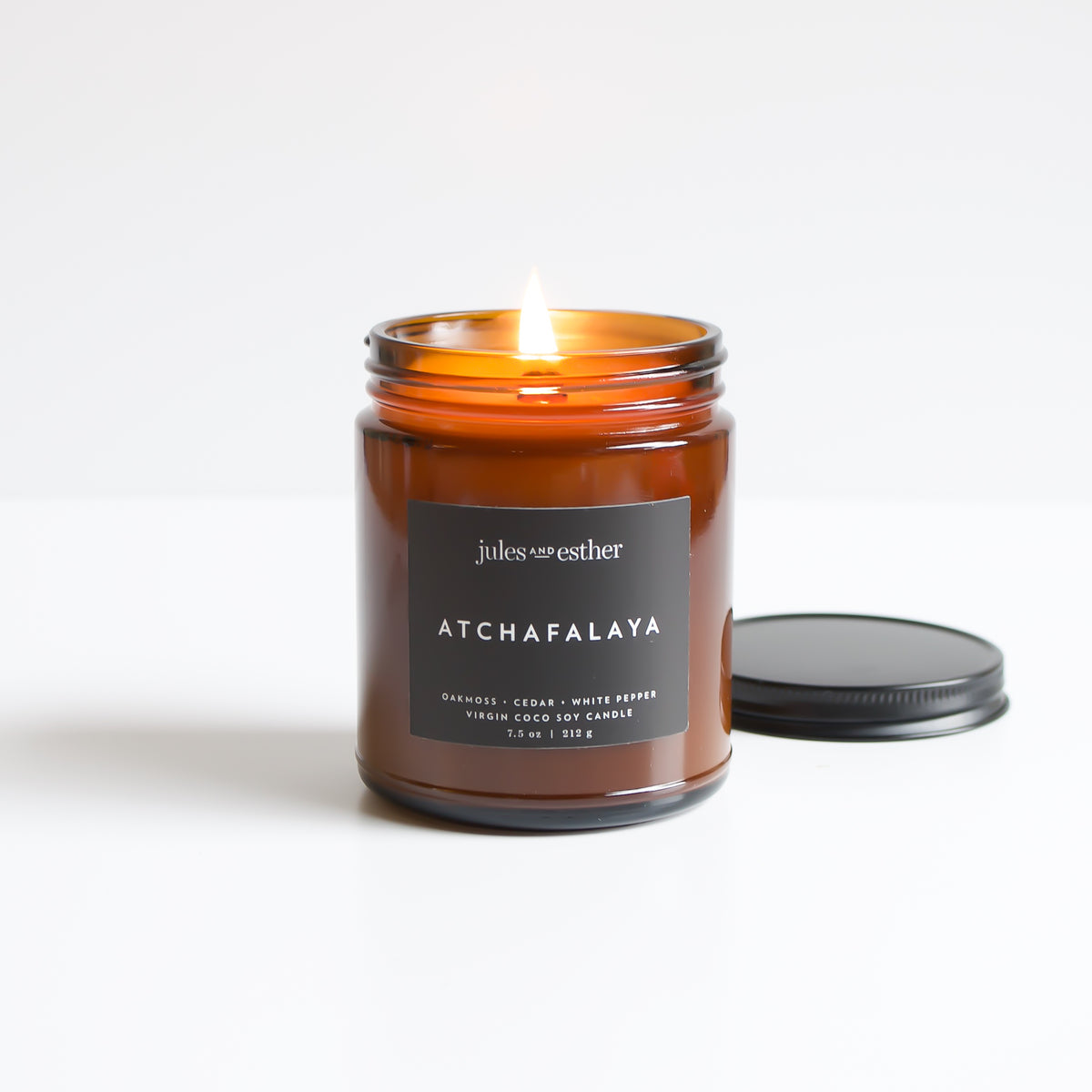 Atchafalaya: Wooden Wick + Virgin Coco Soy Candle