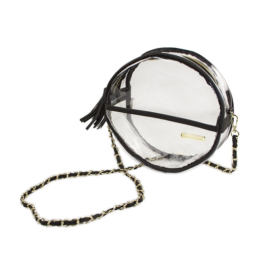 Canteen Crossbody-Clear PVC