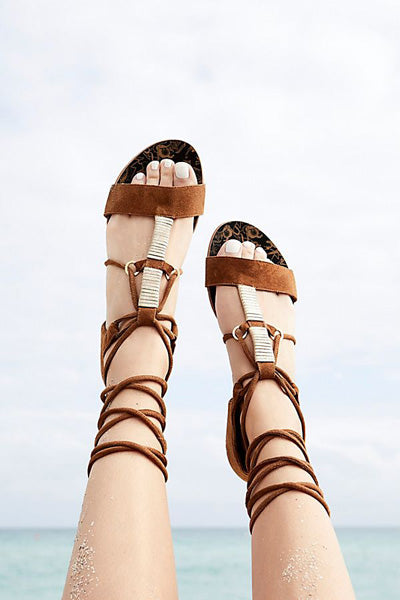 Free People Fiji Wrap Sandal