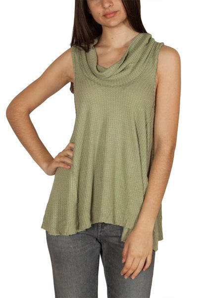 Free People Swing It Cowl Top