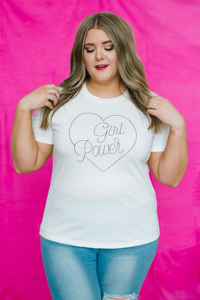 Girl Power Graphic Tee | Up to 3XL!