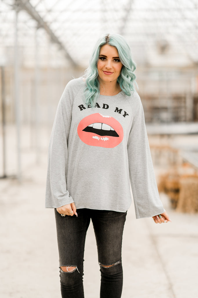 Read My Lips Top | 4 Colors!