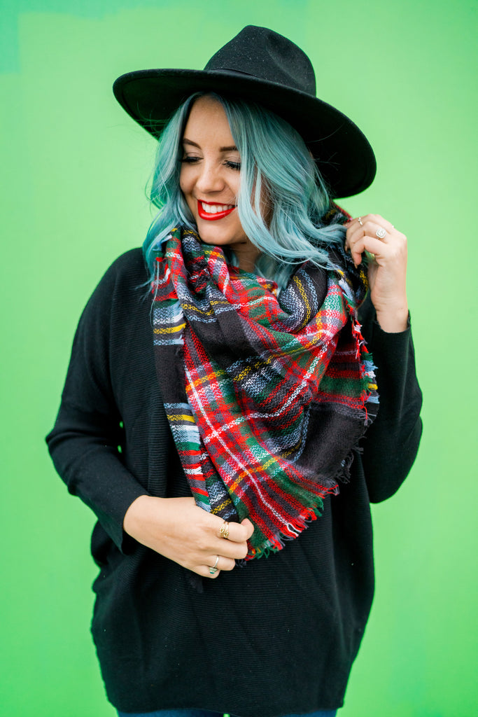 Plaid to Have It Blanket Scarf | 4 Colors!