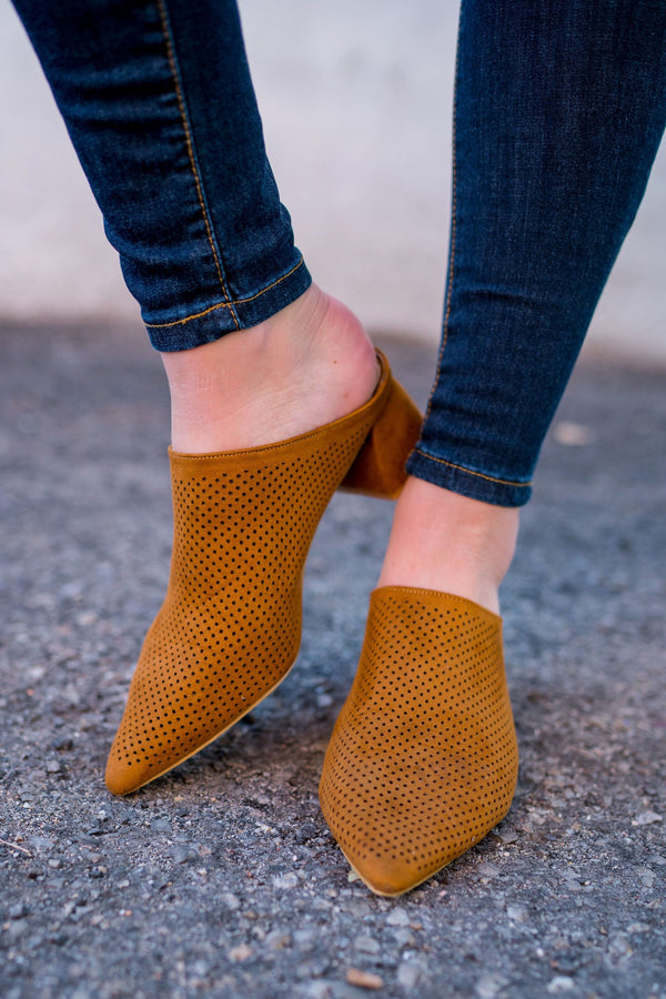 Backless Babe Mules | 4 Colors!