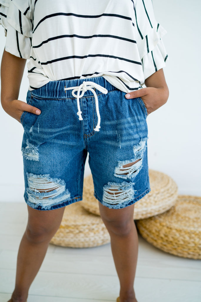 Your Boyfriends Denim Shorts