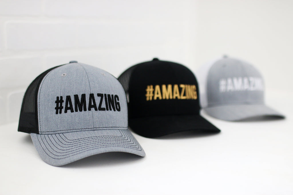 #AMAZING trucker hats