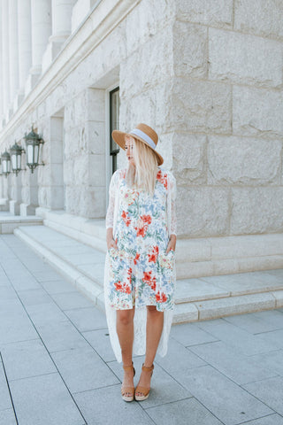 Fresh Cut Floral Dress