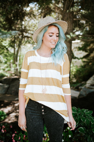 Casually Striped Top | 3 Colors!
