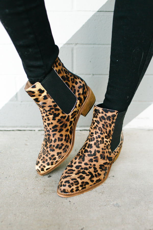 Cheetah Print Booties | 2 Colors!