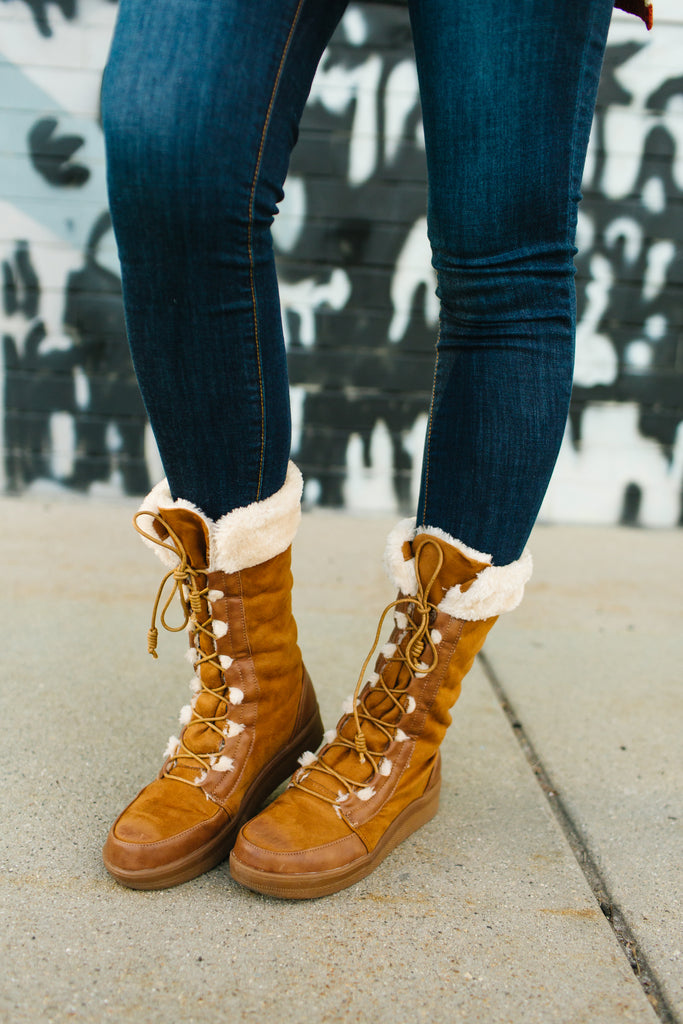 Adventure Lace-Up Boots