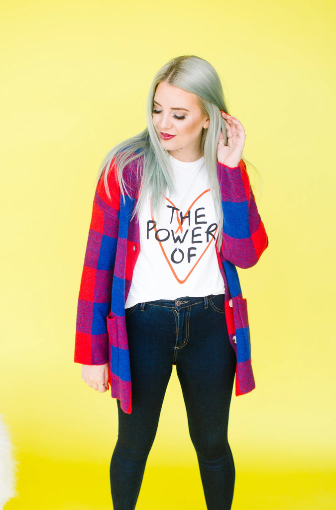 The Power of Love Graphic Tee | Up to 2XL!