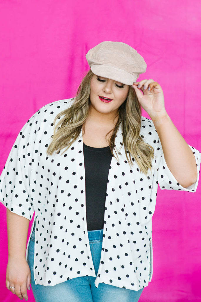 Dot to Dot Kimono | Up to 3XL!