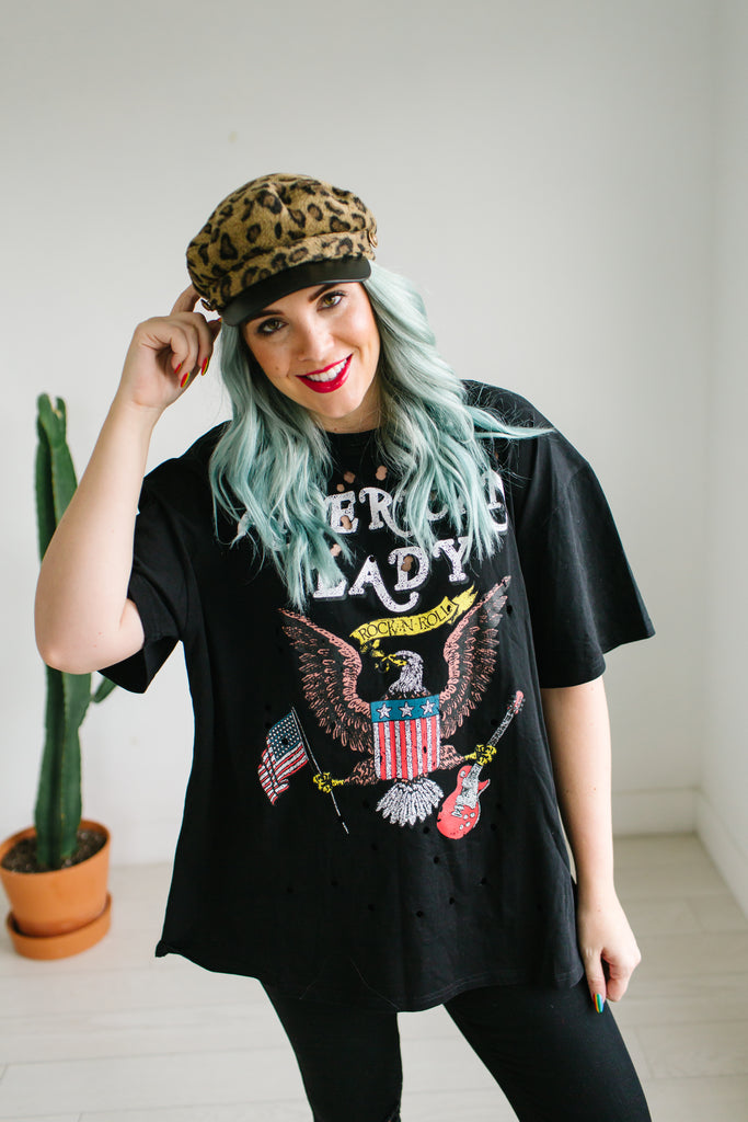 American Lady Graphic Tee | Up to 3XL!