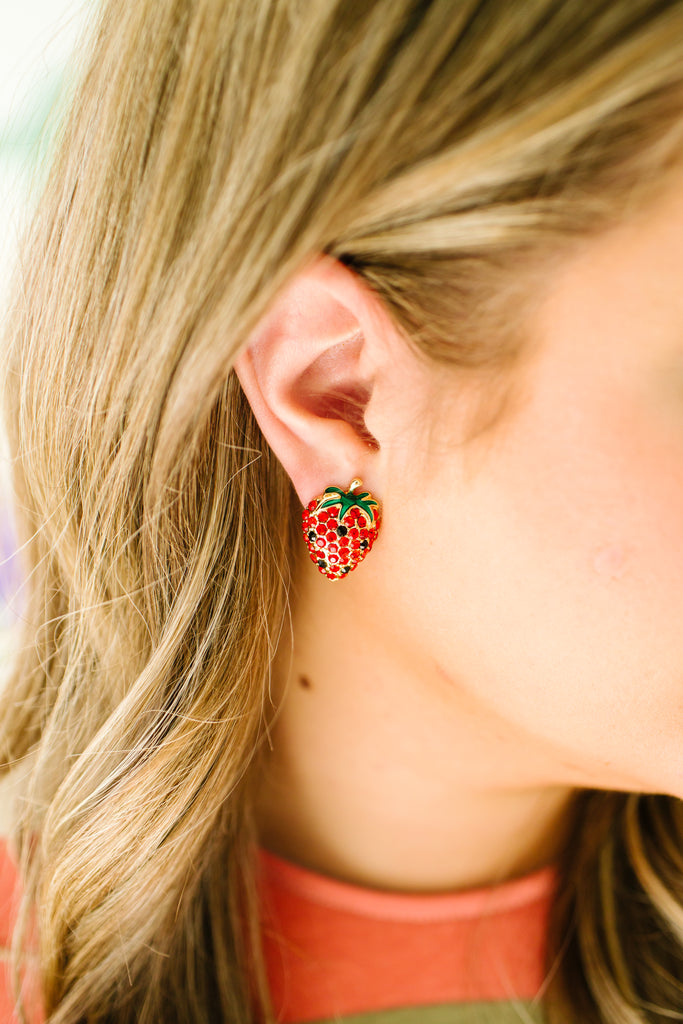 Strawberry Fields Earrings
