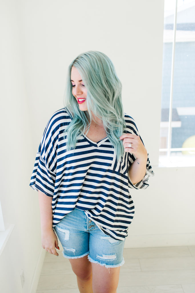 Soft and Sweet Striped Top | 2 Colors!