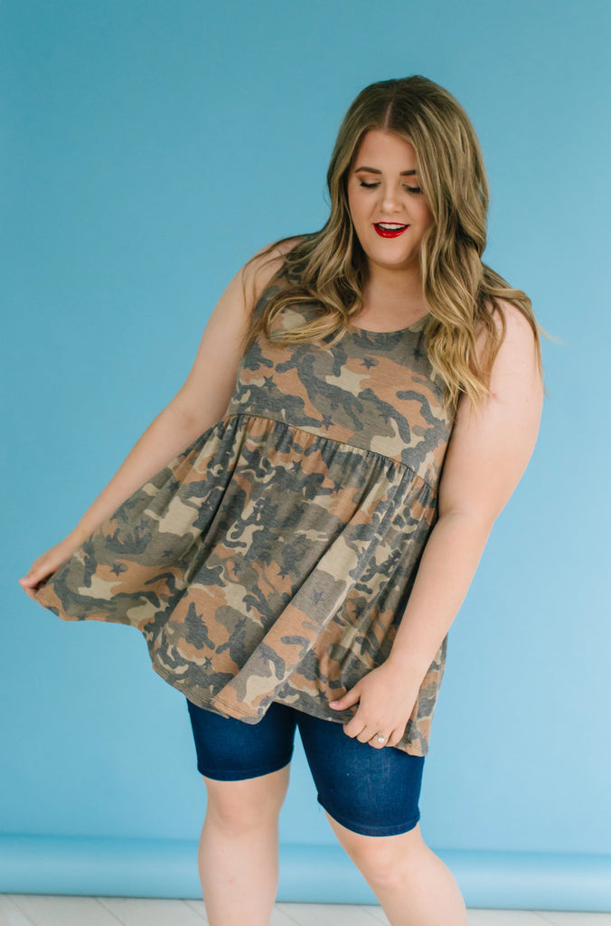Ultimate Flirt Plus Size Tank